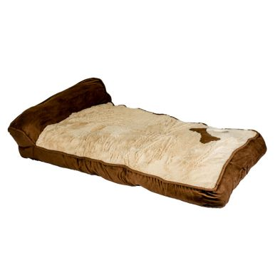 Chaise longue pet bed d brown discount prices uk huge for Brown chaise longue